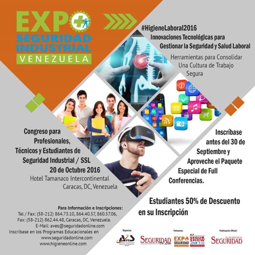 Expo seguridad Venezuela 2016